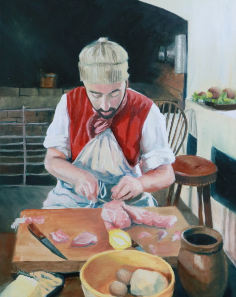Colonial Williamsburg Butcher