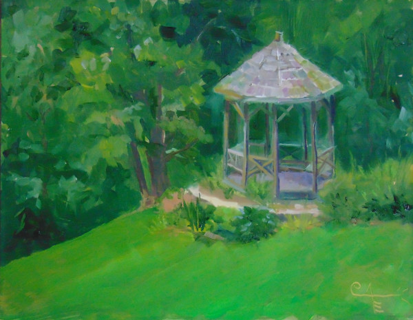 Gazebo in Maymont Park