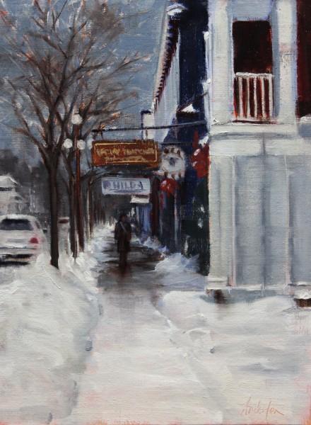 Winter - Main Street Harbor Springs