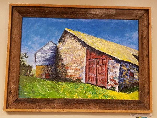 Great Barn at Arrandale: Big Red Doors; Great Barn at Arrandale #2