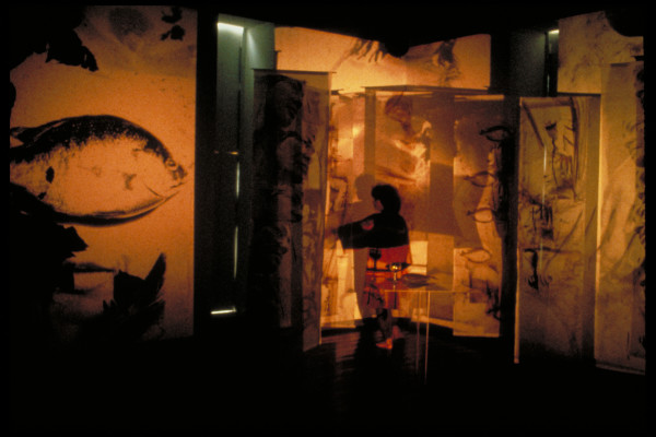 The meal from the series Smell of fish| A merenda da série Cheiro de Peixe
