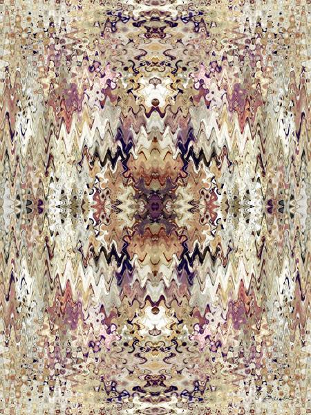 Klimt Wave Tapestry 1B