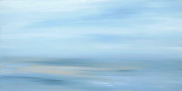 Monet Morning - Beach Study in Light - Canvas Print #1 of 1