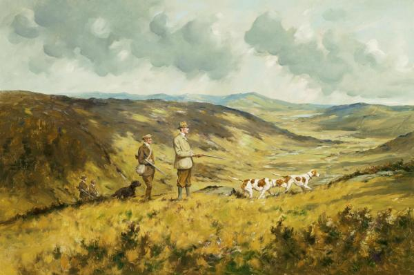 Grouse Hunting (a pair)