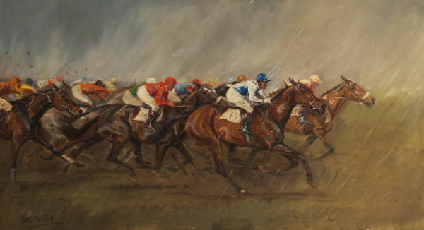 The Cambridgeshire 1949, Three Furlongs to Go