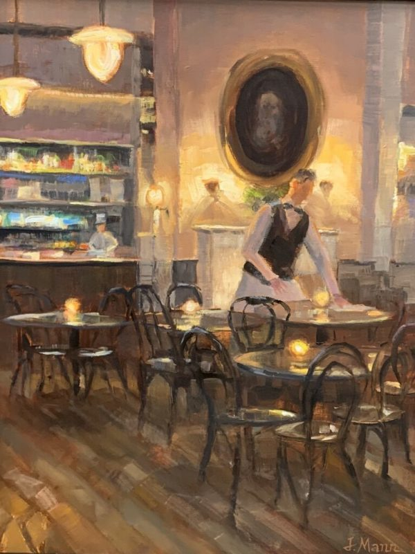 French Cafe by Julie Mann