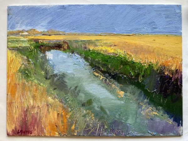 Winter Marsh study by Julia Chandler Lawing