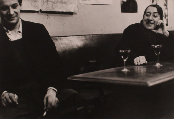 Le Jeune Homme et Rita by Robert Doisneau
