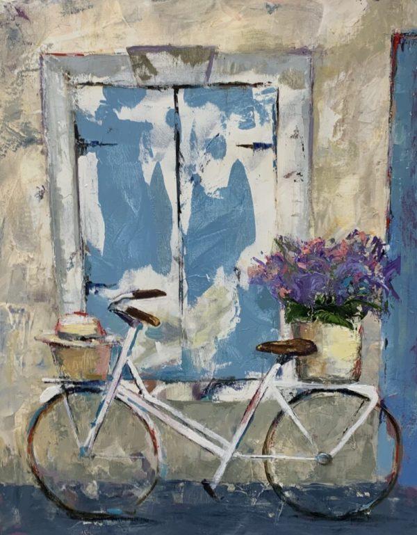 La bicyclette by Liz Shepherd