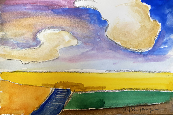 Blue Path by Matt Petley-Jones