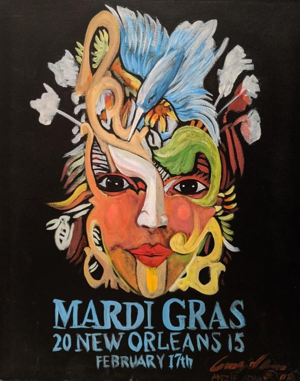 Mardi Gras* by Amzie Adams