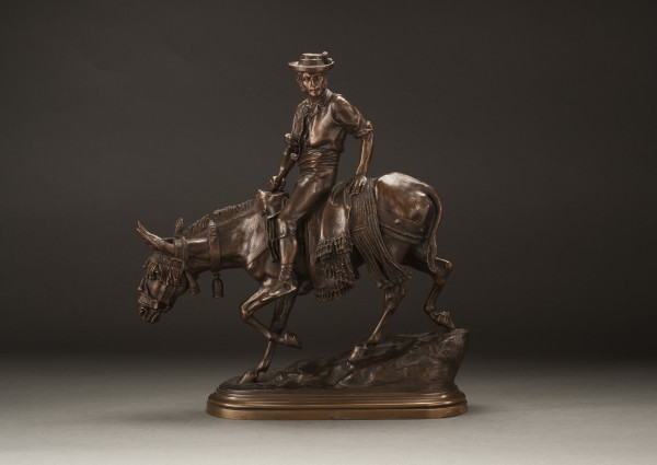 Spanish Rider on a Mule by Isidore Jules Bonheur