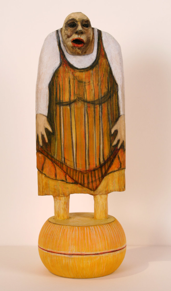 Heavy Woman Doll by Eve Whitaker