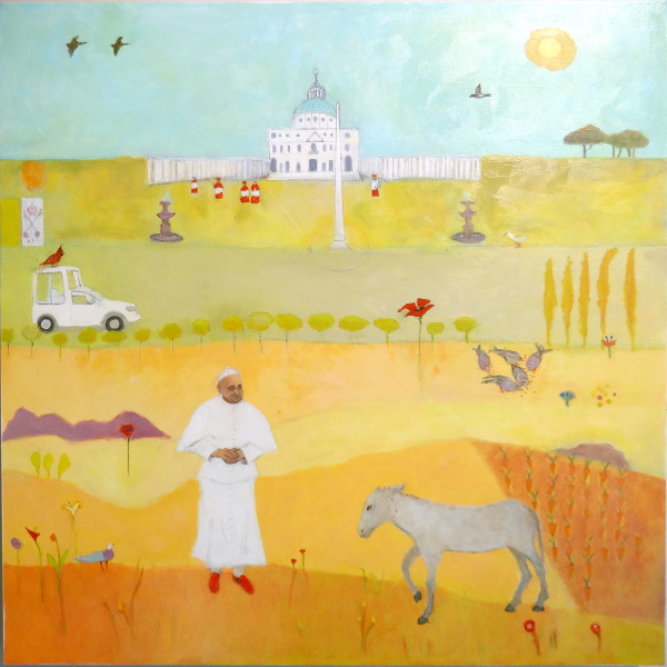 Pope Frances - Earthly Kingdom by Marie H Becker