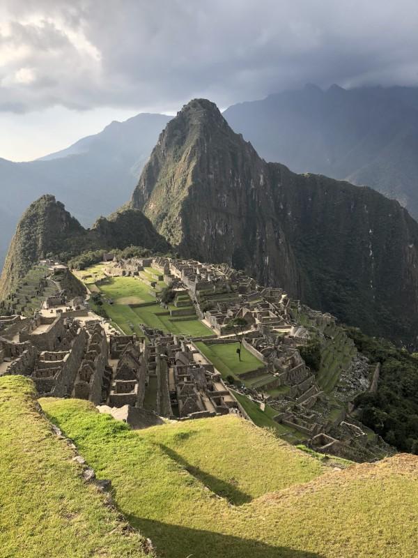 Machu Picchu by Elisabeth Hill
