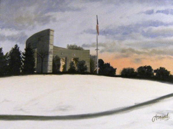 World War II Memorial by Armand Gibbons