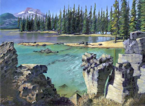 Emerald Pool of Sparks Lake by Pat Cross