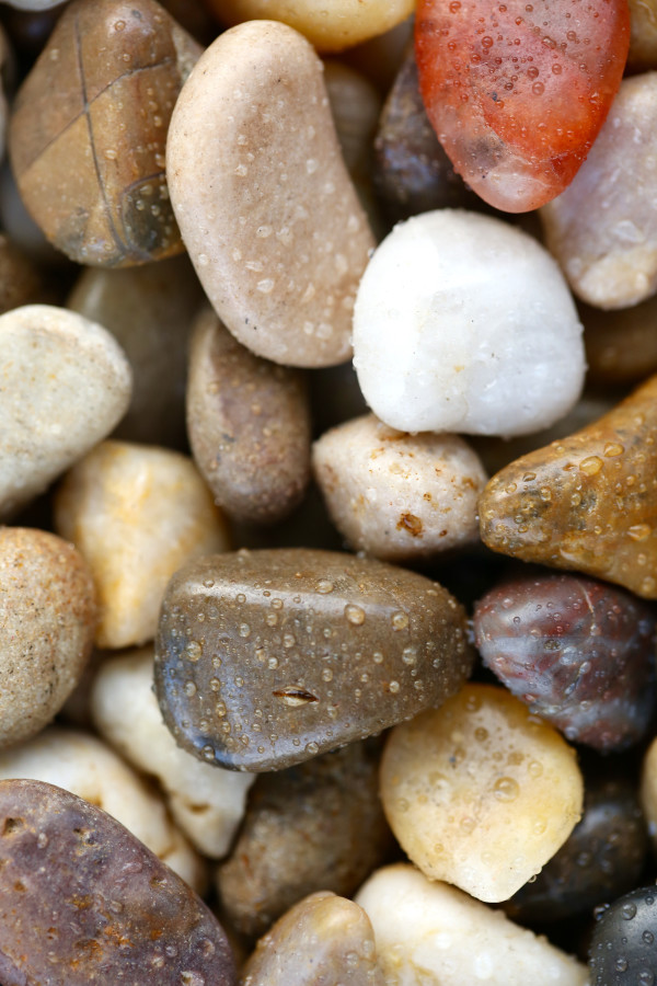 Pebbles by Arun Shrestha