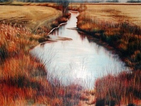 Ditch Curve by Deborah Murphy