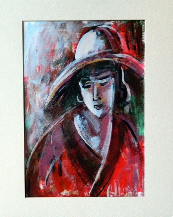 Red Hat by Galina Herndon