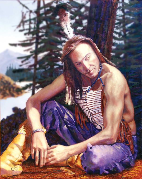 Victor Conrad Greywolf by Pat Cross