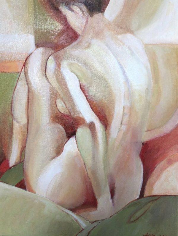 Sitting Tall by Nancy Johnson