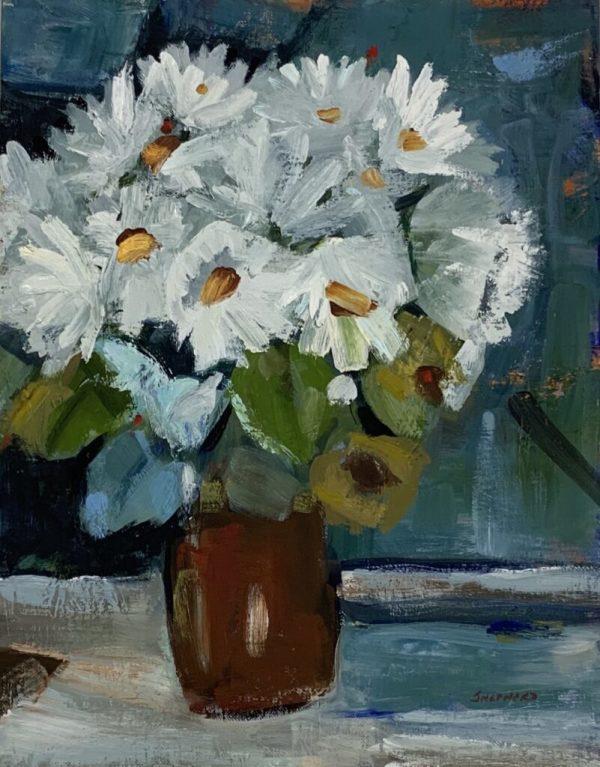 Daisy Pot by Liz Shepherd