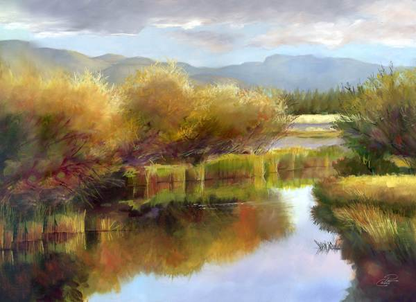The Little Deschutes Study by Pat Cross