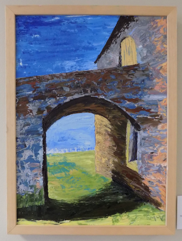 Thru Way: Modeled After Old English Barn Architecture by Barnlady
