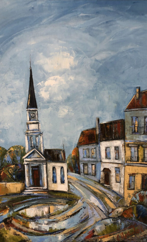 Church Steeple by Galina Herndon