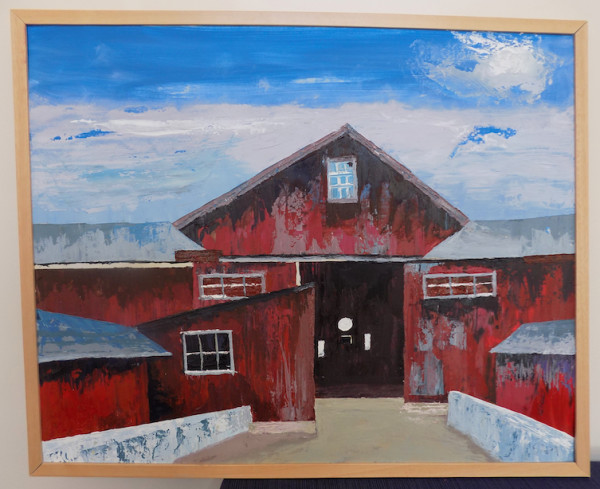 Red Barn Blue Sky, or Debrah's Rock Farm: No, they don't grow rocks by Barnlady