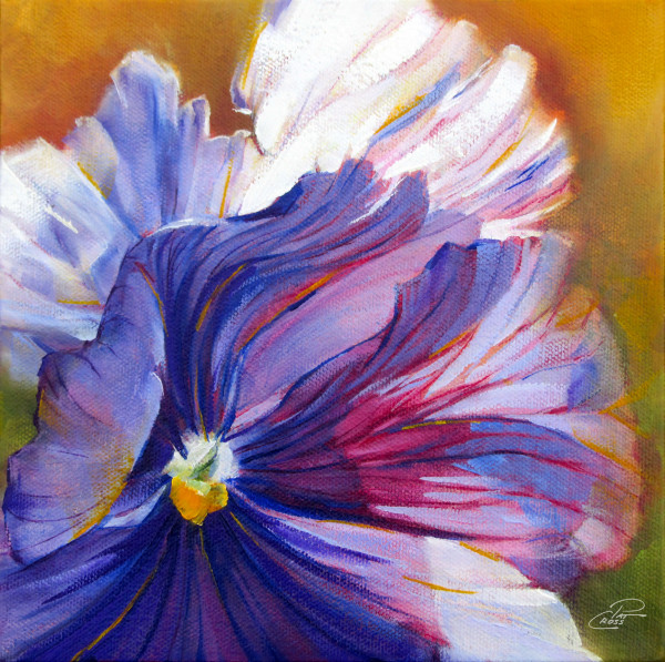 Prissy Pansy by Pat Cross