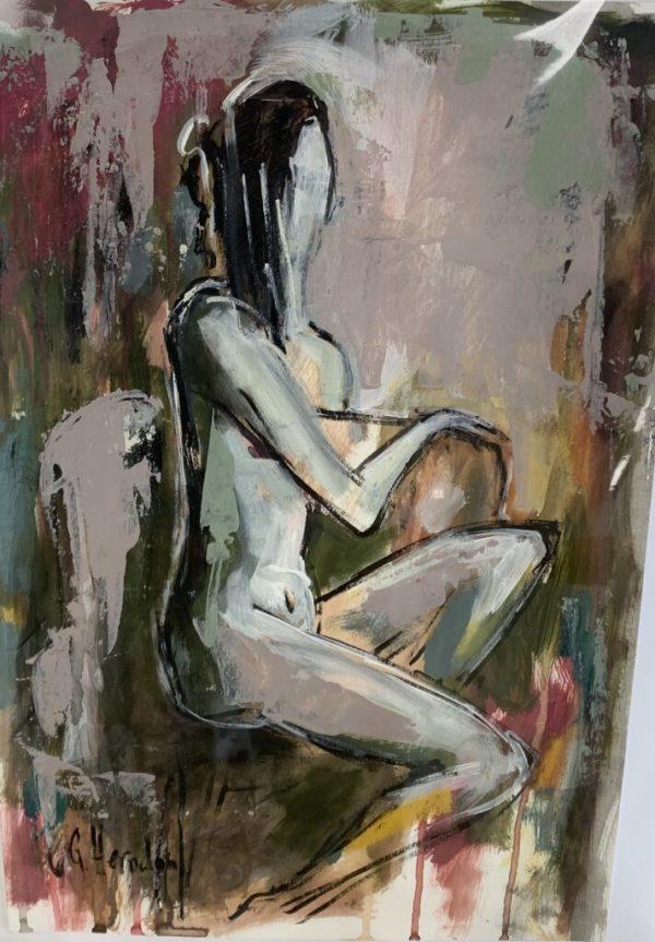 Nude 2 by Galina Herndon