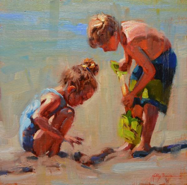 Beach Trip by Kelly Brewer