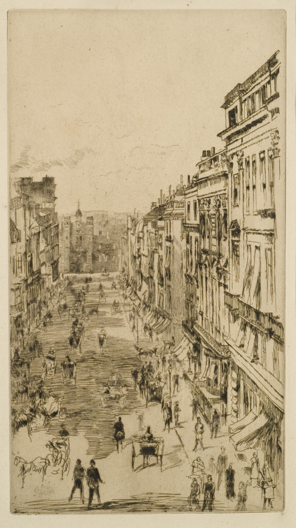 St. James Street by James McNeill Whistler