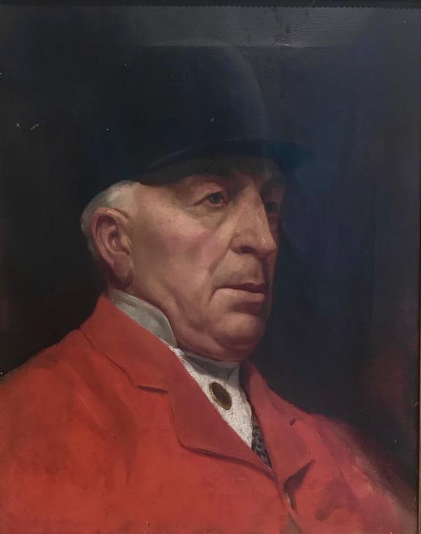 Portrait of a Huntsman by 20th Century European