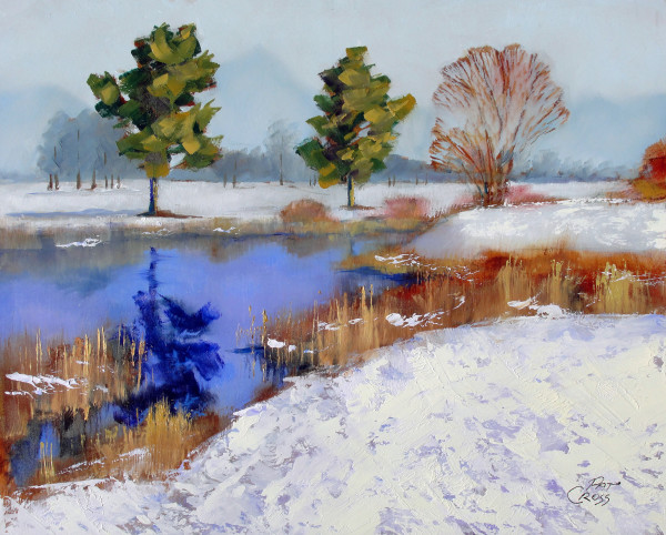 Study - First Snow by Pat Cross