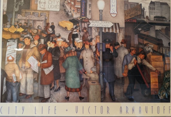 City Life by Victor Arnavtoff