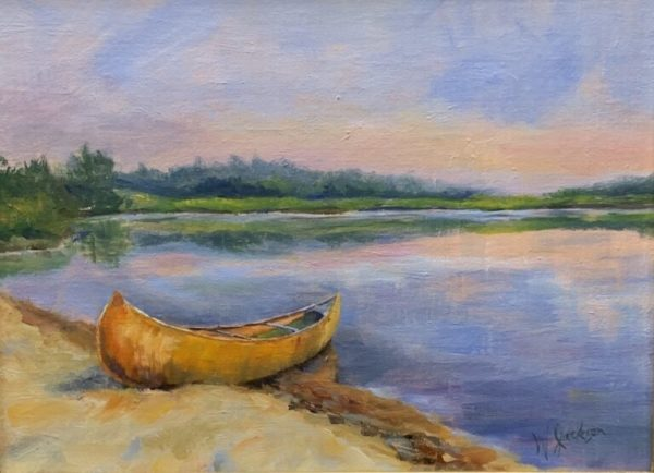 Gold Canoe by Wendy Jackson