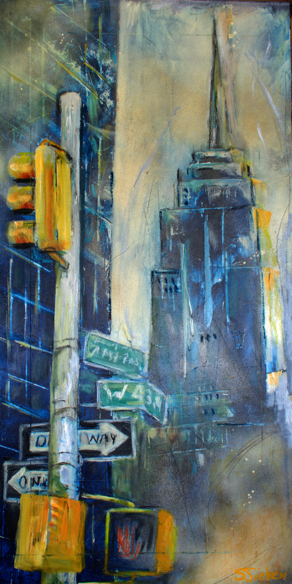 Empire State Building by sharon sieben