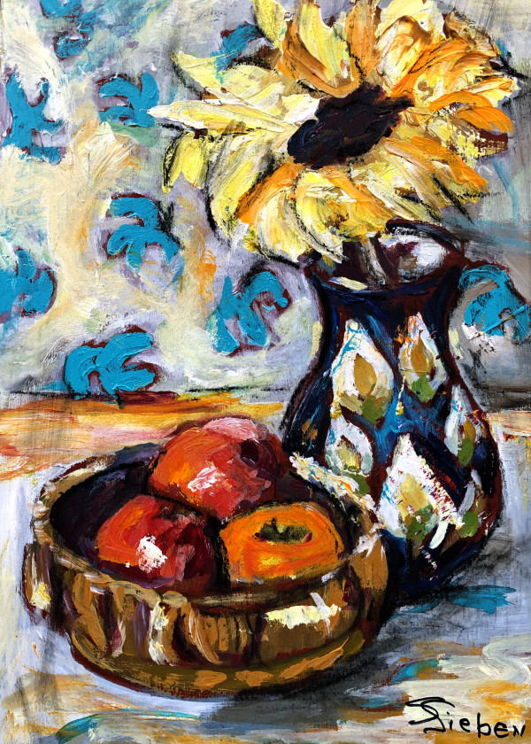 Fruit and Flowers by sharon sieben
