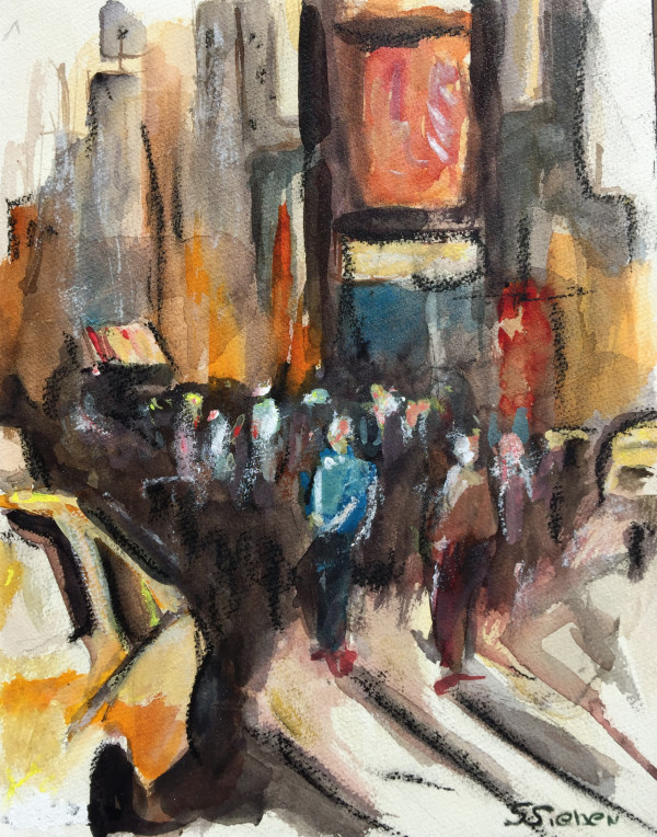 Times Square by sharon sieben