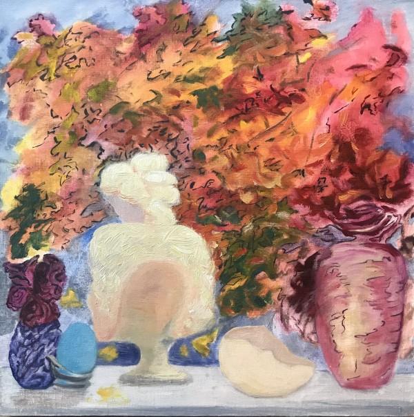 "583- Art Presence Special - ""Inside Out"" / Fall Through the Window ;  Studio Still II; Art Presence Jacksonville by Katy Cauker"
