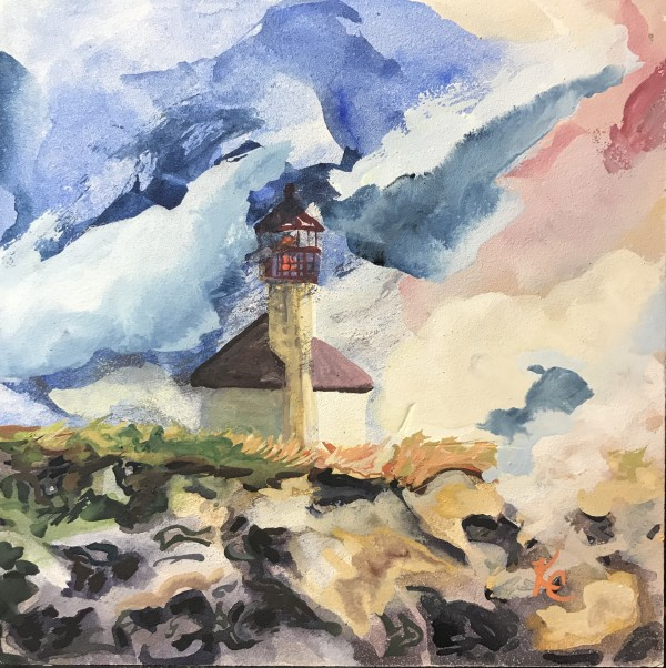 136 - Coastal Light-Cape Arago by Katy Cauker