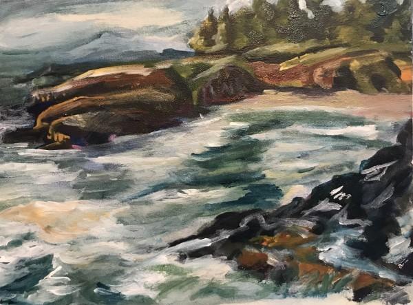 757- Rocky Creek by Katy Cauker