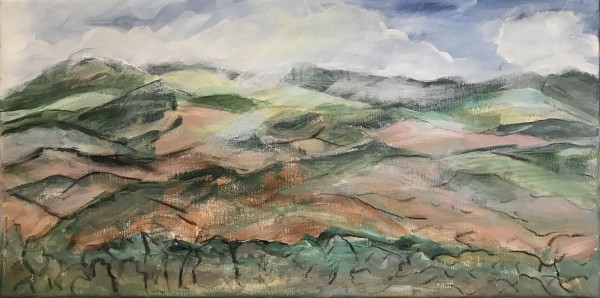293 - Art Presence Special - Vista & Vineyard - Eastern Hills by Katy Cauker