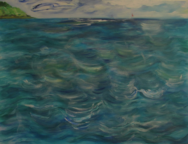 Sold. Waikiki Waters by Katy Cauker