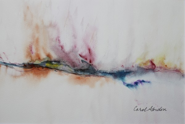 Watercolour Painting by Carol Gordon