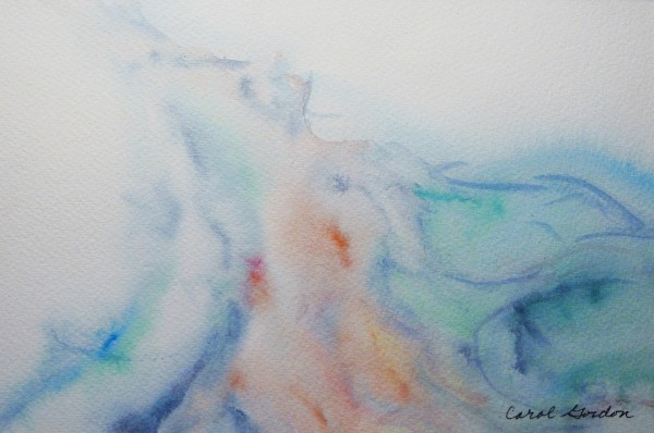 Watercolour Painting - CG15PAP007 by Carol Gordon