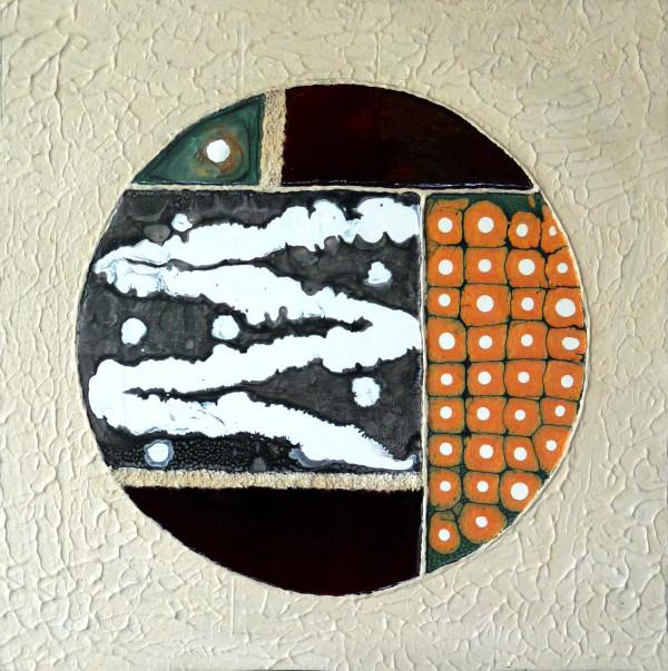 African Yin/Yang by Mari O'Brien